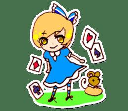 fairy tale girls sticker #511833