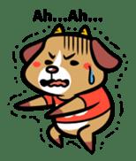 Demon dog sticker #511843