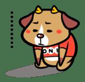 Demon dog sticker #511853