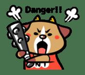 Demon dog sticker #511855