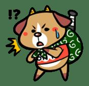 Demon dog sticker #511859