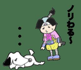 momotadarou sticker #514584