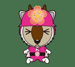 Kamoshika Ranger 5 sticker #515087
