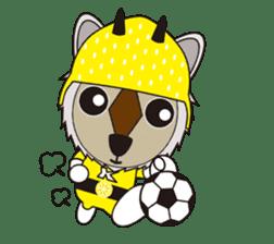 Kamoshika Ranger 5 sticker #515091