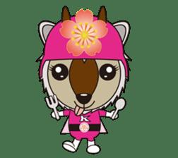 Kamoshika Ranger 5 sticker #515092