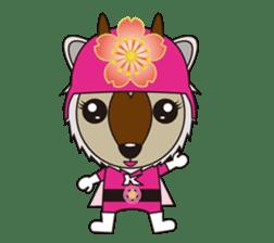 Kamoshika Ranger 5 sticker #515102