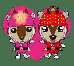 Kamoshika Ranger 5 sticker #515106