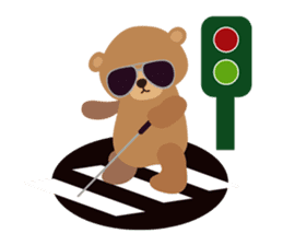 Skip Class Bear sticker #515157