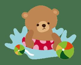 Skip Class Bear sticker #515160