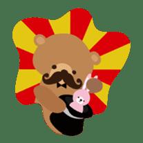 Skip Class Bear sticker #515175