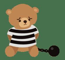 Skip Class Bear sticker #515182
