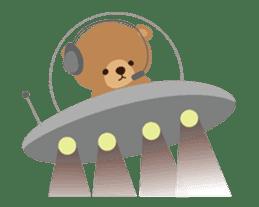 Skip Class Bear sticker #515193