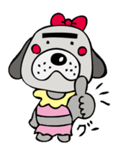 busu kawaii dog sticker #515274