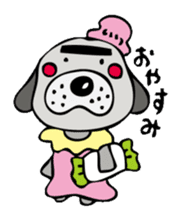 busu kawaii dog sticker #515276
