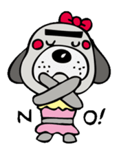busu kawaii dog sticker #515278