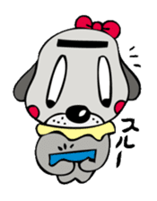 busu kawaii dog sticker #515279