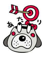 busu kawaii dog sticker #515287
