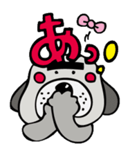 busu kawaii dog sticker #515288