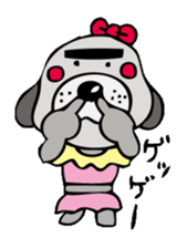 busu kawaii dog sticker #515297