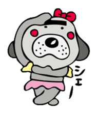 busu kawaii dog sticker #515299
