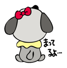 busu kawaii dog sticker #515306