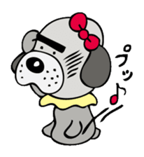 busu kawaii dog sticker #515309