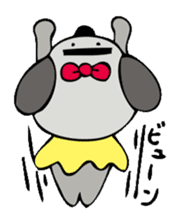 busu kawaii dog sticker #515312