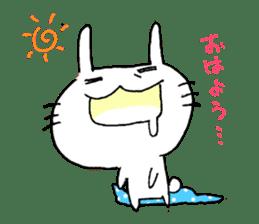 goofy rabbit sticker #516354