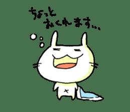goofy rabbit sticker #516356
