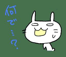 goofy rabbit sticker #516357