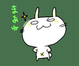 goofy rabbit sticker #516358