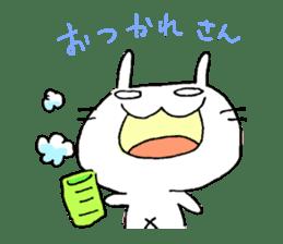 goofy rabbit sticker #516366