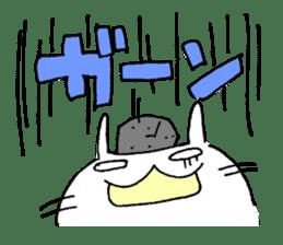 goofy rabbit sticker #516383