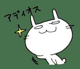 goofy rabbit sticker #516392