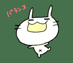 goofy rabbit sticker #516393