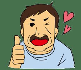 Ossan (Mr. Dandy) sticker #518138
