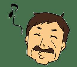 Ossan (Mr. Dandy) sticker #518147
