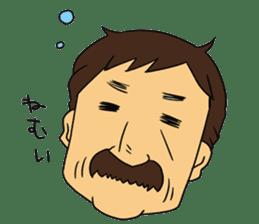Ossan (Mr. Dandy) sticker #518151