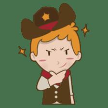 Bill, the fun and charming cowboy sticker #518483