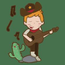 Bill, the fun and charming cowboy sticker #518484