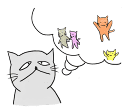 Cynical Cats sticker #518679