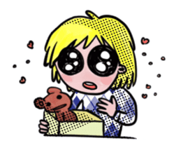 Meet Sally Drama sticker #518751