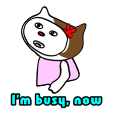 Easygoing Hanakocchi(ENG ver.) sticker #519125