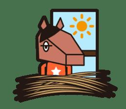 horsebox sticker #520314