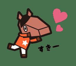 horsebox sticker #520335