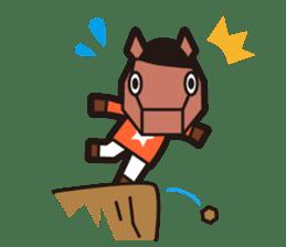 horsebox sticker #520337