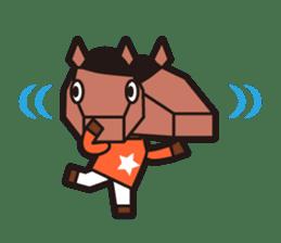 horsebox sticker #520340