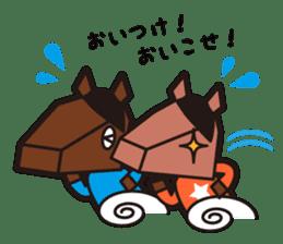 horsebox sticker #520345