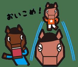 horsebox sticker #520346