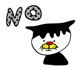 Chicken,Negative Cat(ENG ver.) sticker #520359